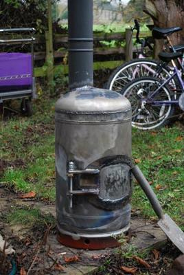 how to build your own wood stove
