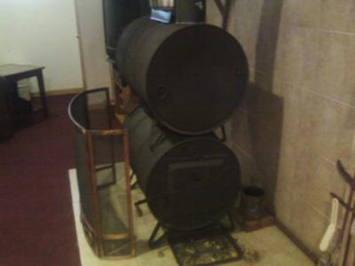 - I Heat My 1800 Sq. Foot Home With A Barrel Stove