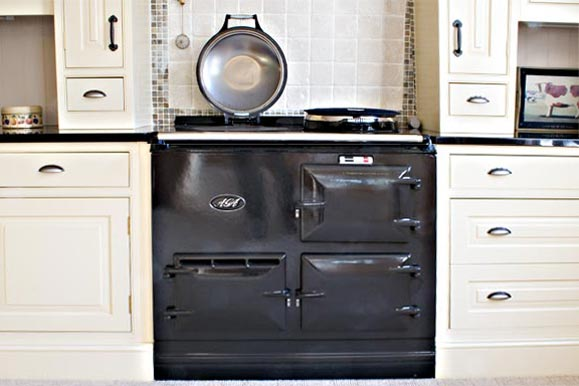 An electric aga
